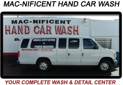 MAC-NIFICENT HAND CAR WASH